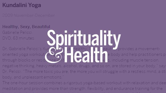 Spirituality & Health - Kundalini Yoga